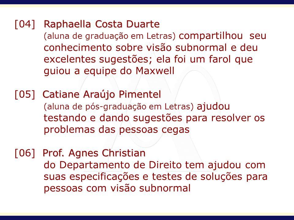 [04] Raphaella Costa Duarte